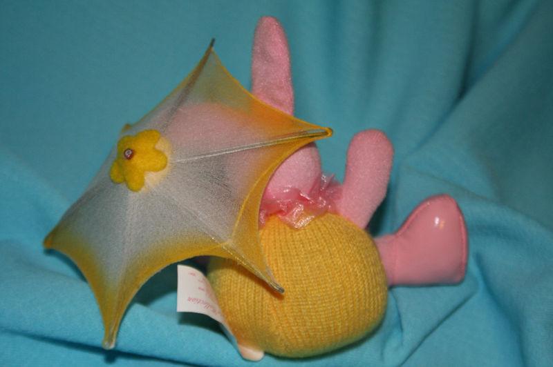 Russ Judy Lynn Collection Easter Egg Bunny w/ Umbrella