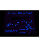 Invisble Blue UV Blacklight Reactive Ink Marker - $5.95