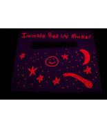 Invisble Red UV Blacklight Reactive Ink Marker - $4.95