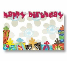 50 Blank Happy Birthday Gifts Enclosure Cards and Envelopes For Flowers ... - $13.98