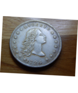 1794 silver dollar flowing hair gap filler ( silver plated) - $12.00