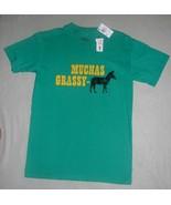 Choice Cuts Sz Adult Small Green Tee Shirt NWT - $10.99