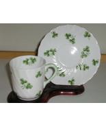 Royal Tuscan Demitasse Cup & Saucer - Shamrock ... - $20.00