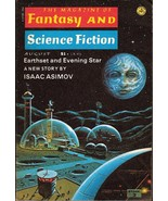 The Magazine of Fantasy and Science Fiction Aug... - $4.00