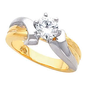 Round Diamond Engagement Ring 1.51 Ct E SI2(LASER-DRILL