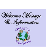 WELCOME / Help Info (This is an INFORMATION ONLY Page) - $0.00