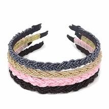 Honbay Handmade Hair Accessories Fashion Delicate Braided Beaded Hair Ho... - $10.27