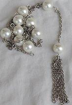 Mallorca silver necklace   - $128.00