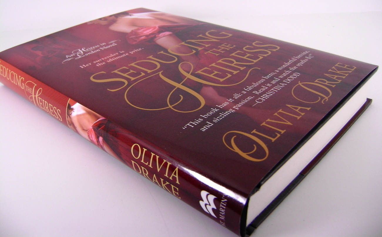 Seducing The Heiress The Heiress Series By Oliva Drake HC