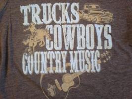 Texas, Trucks, Cowboys, Country Music, Womens Small T-Shirt - $7.95