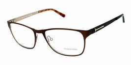 Authentic Tom Ford Eyeglasses TF5242 050 Brown Frames Rx-ABLE 55MM - $94.44
