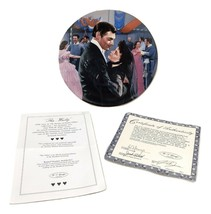The Waltz Gone with the Wind Plate Passions of Scarlett O'Hara 1992 Bradford Exc - $49.50