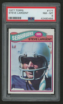 1977 Topps #177 Steve Largent Hof Psa 8 Centered - $48.30