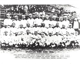 1916 BOSTON RED SOX 8X10 TEAM PHOTO BASEBALL MLB PICTURE WORLD CHAMPS - $3.95