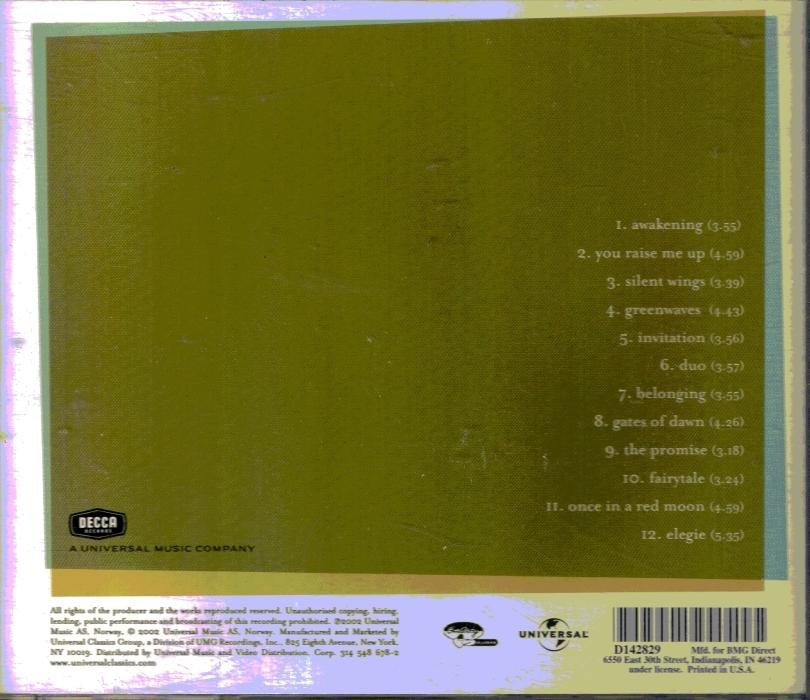 CD Secret Garden Celtic Music