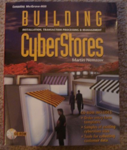 Building Cyberstores Martin Nemzow Paperback Book w/ CD