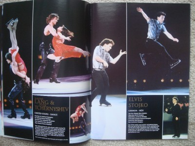 Champions on Ice Program Book 2002 Olympic Tour Skating