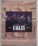 Eagles Concert Program Book World Tour 1995 Hell Freeze Over - $35.00