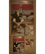 Fort Minor Promo Poster Sticker Decal Set Linkin Park Mike Shinoda - $5.00