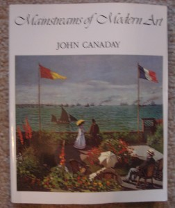 Mainstreams of Modern Art Paperback Book John Canaday