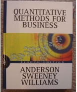 Quantitative Methods for Business w/CD & 2 Study Guides - $20.00