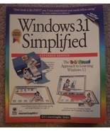 Windows 3.1 Simplified for Beginners 1994, Paperback - $10.00