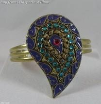 Multi Gemstone Paisley Bracelet 1 - $19.95