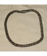 Silver Metal Chain Choker - $9.99