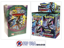 Sun & Moon Guardians Rising Booster Box & Prerelease Kit Pokemon Trading... - $134.99
