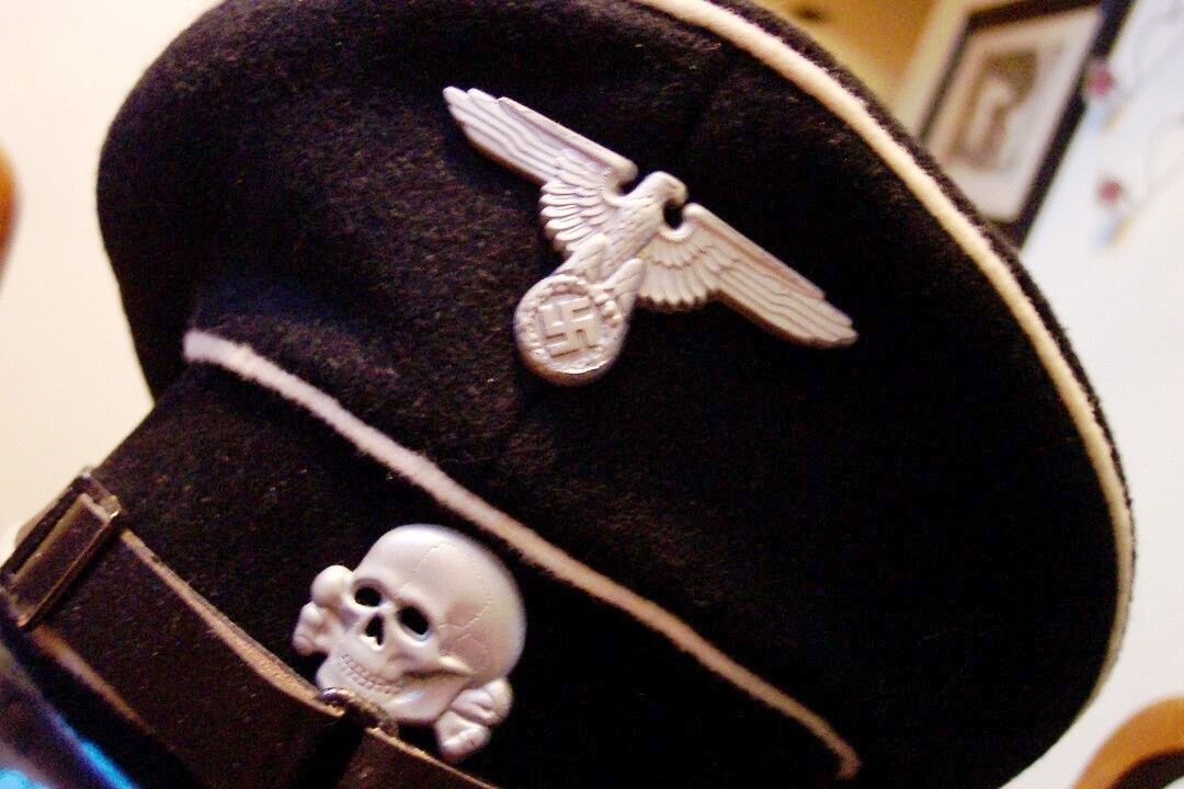 SS trooper cap EM Black allgemeine 60