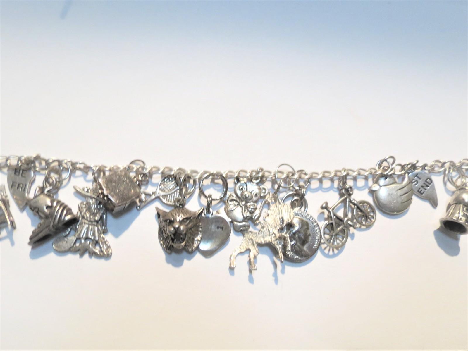 Sterling Silver charm bracelet image 4