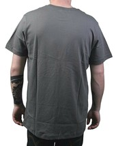 Dunkelvolk Gargoyle Gray Purple Papel Peruvian Street Wear Art Logo T-Shirt NWT image 2