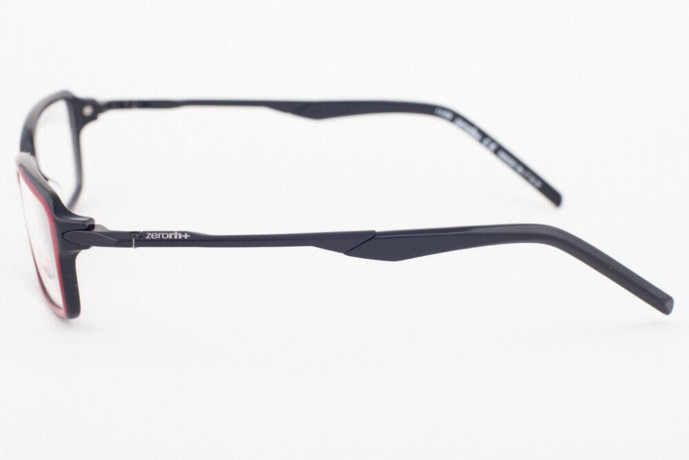 ZERORH+ QUBO Red & Black Eyeglasses RH200-01 RH 200 01 image 3