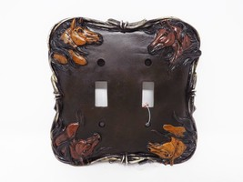 Free Spirit Horses Double Switchplate - $9.49