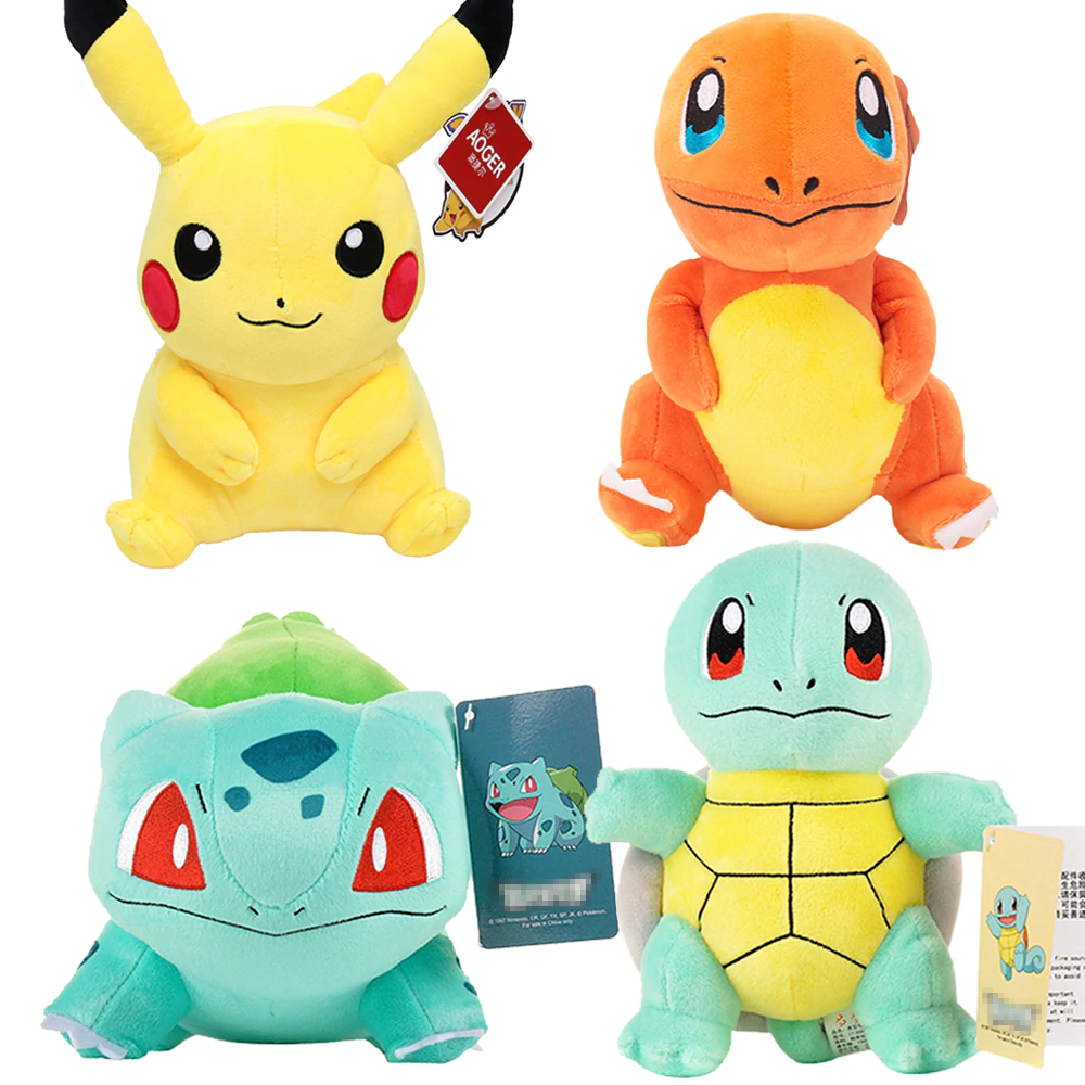 anime pokemon stuffed toys for gifts kids and every Pokémon lover - $19.99
