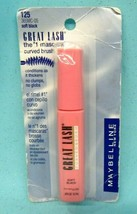 Maybelline GREAT LASH Lash Thickening No Clump Mascara ~125 SOFT BLACK~ ... - $10.30