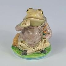 Vintage Jeremy Fisher Frog Figurine Royal Albert England 1989 - $32.66