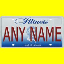 1/43-1/5 scale custom license plates any brand RC/model car - Illinois tag - $11.00
