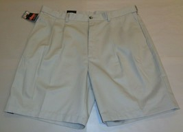 Roundtree & Yorke Size 44 EXPANDER WAIST String Cotton Pleated New Mens ... - $33.18