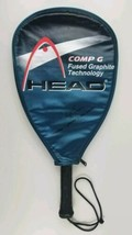 Head Comp G Tennis Racket Fused Graphite Technology Grip 3 5/8 with Cover - $16.82