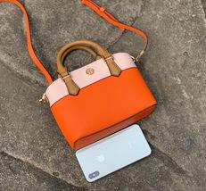 Tory Burch Robinson Color Block Top Handle Mini Bag image 8