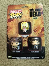 Pocket Pop! Figures!!!  The Walking Dead!!! - $19.50