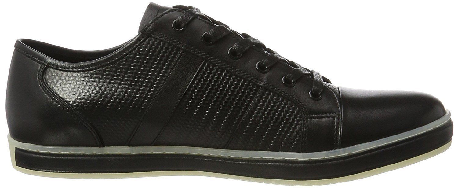 Kenneth Cole Men's Leather Fashion Black & Brown Brand-Age Sneaker Casual Shoes