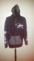 TOP HEAVY Boy's  Black Hoodie Jacket IRON CROSS... - $16.83