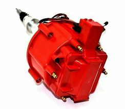 AMC Jeep Straight 6 232 3.8L & 258 4.2L 65K COIL Red Cap HEI Distributor image 6
