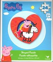 Peppa Pig - 24 Shaped Jigsaw Puzzle - $9.89