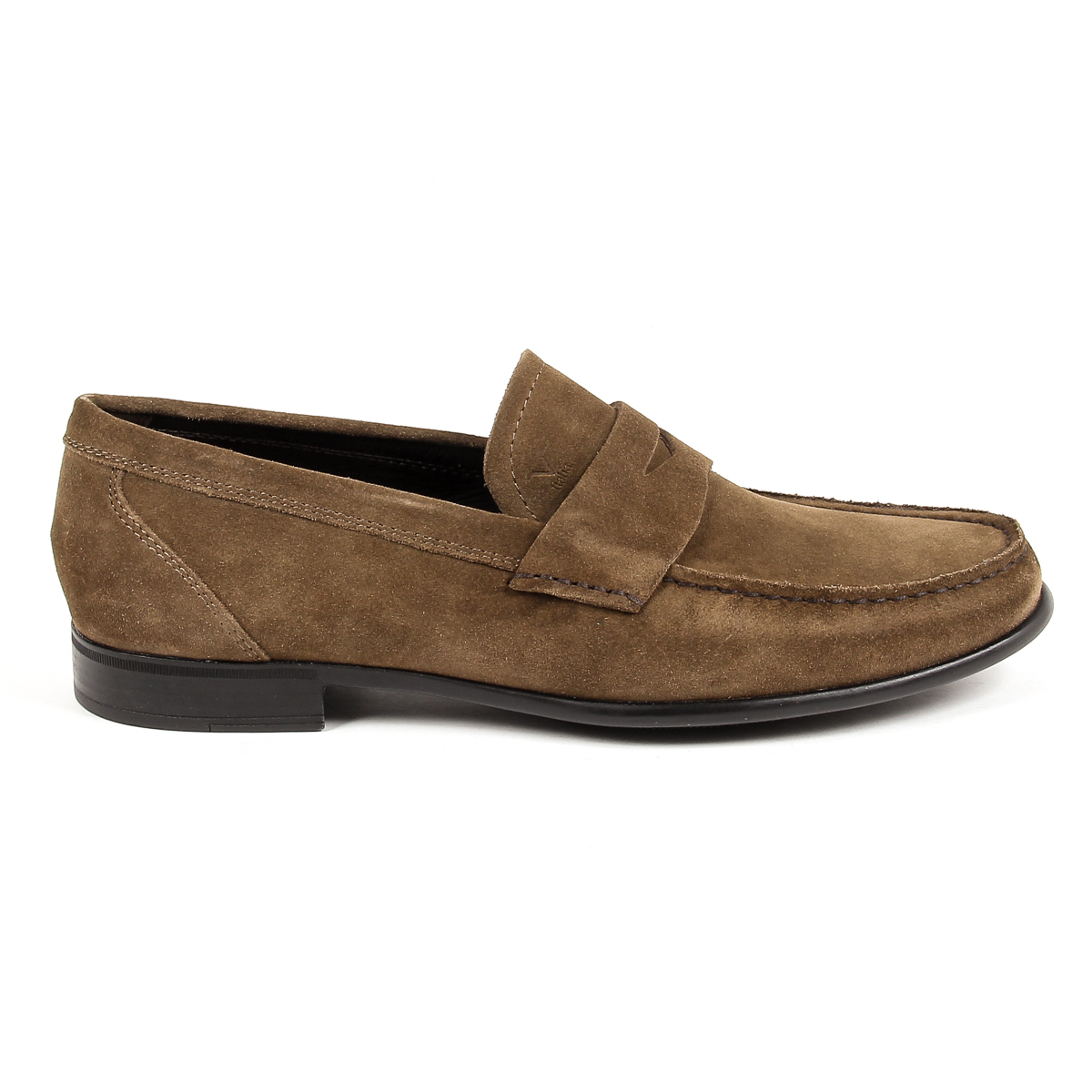 Primary image for V 1969 Italia Mens Loafer Brown STEWART