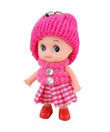 Cute Soft Interactive Baby Dolls Toy Mini Doll 8 CM For Girls - $3.99