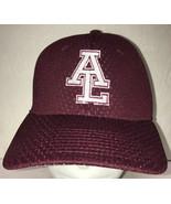 Avon Lake High School Mens Hat Baseball Cap Wicking Burgundy - £13.36 GBP