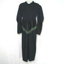 Rubies The Wizzard of Oz Wicked Witch Costume Dress Gown Girls Size S Black - $9.89